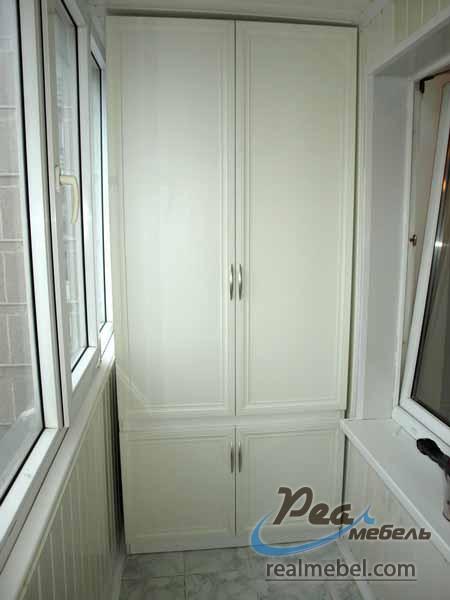 Шкаф на балкон - реал мебель.